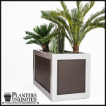 Planters Unlimited - Jaxson Fiberglass Square Planters