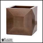 Planters Unlimited - Kaza Square Fiberglass Planters