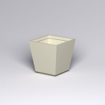 Planters Unlimited - Marek Tapered Square Fiberglass Planters