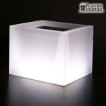 Planters Unlimited - Custom Size Two Piece Illuminated Planters