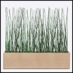Planters Unlimited - Outdoor Artificial Horsetail Groves in Modern Planters