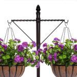 Planters Unlimited - Two-Way Twisted Arm Hanging Basket Bracket