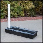 "Planters Unlimited - 25""Lx9""Wx3""H Rectangular Reservoir"