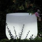 Planters Unlimited - Argento Illuminated Fiberglass Planters