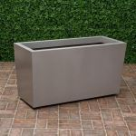 Planters Unlimited - Marek Tapered Rectangular Fiberglass Planters