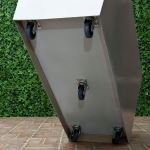 Planters Unlimited - Modern Rolling Fiberglass Planters on Casters