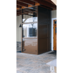 Symmetry Elevating Solutions - Vertical Platform Lift - Enclosed Lift
