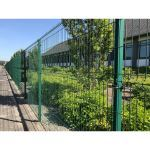 Wallace Perimeter Security - Rampart 286 - Single Welded Wire Fencing