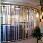 Alumatec Pacific Products - Perforated Or Solid Side-Folding Accordion Door