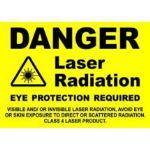 RT Technologies Inc - Large Shatterproof Warning Notice