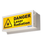 RT Technologies Inc - Single Aspect Laser Warning Sign