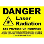 RT Technologies Inc - Large Shatterproof Warning Notice