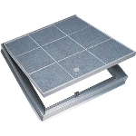 Williams Brothers Corporation of America - WB Type TER & TRD Recessed Aluminum Floor Hatch (Architectural Flooring)