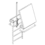 The Williams Brothers Corporation of America - WB LadderUp® Safety Post
