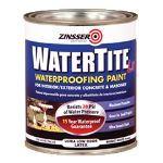 Rust-Oleum Corporation - Zinsser® WATERTITE®-LX Mold & Mildew-Proof™* Waterproofing Paint