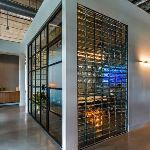 GBA Architectural Products + Services - Mortarless Glass Block Grid Walls