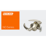 Schlage Commercial Mechanical Locks - ND - Series Cylindrical Locks