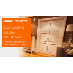 Schlage Commercial Mechanical Locks - Wood Door Concealed Cable System (WDC)