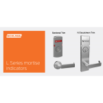 Schlage Commercial Mechanical Locks - Messaging Indicators for L - Series Mortise Locks