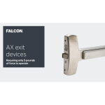 Falcon - Locks, Exit Devices, Closers - AX Series Exit Devices