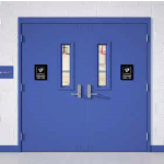 Steelcraft Metal Doors and Frames - Paladin™ PW Glass Light Series Steel Tornado Doors