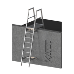 FIXFAST USA - RL22 Angled Fixed Ladder With Parapet Mount