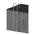 FIXFAST USA - RL31 Standard Access Ladder With Grabrails