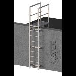 FIXFAST USA - RL32 Standard Access Ladder With Parapet Mount