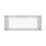 "Intense Lighting - 11"" Stainless Steel Compact Fluorescent Step Light - Step Lighting"