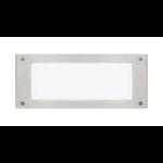 "Intense Lighting - 11"" Stainless Steel Compact Fluorescent Step Light - Step Lighting"