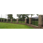 Ameristar Security Products, Inc. - Montage II Industrial Welded Ornamental Steel Fence