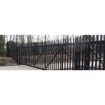 Ameristar Security Products, Inc. - TransPort IS High Security Pale Cantilever Gate