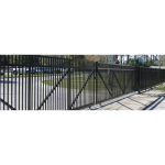 Ameristar Security Products, Inc. - PassPort II Industrial Ornamental Roll Gate