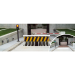 Ameristar Security Products, Inc. - Sentinel Wedge Barrier - Vehicle Entry Barriers