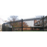 Ameristar Security Products, Inc. - Stalwart II Anti-Ram Barrier & Ornamental Fence