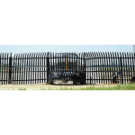 Ameristar Security Products, Inc. - Stalwart IS Anti-Ram Barrier & High Security Steel Fence