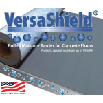 GCP Applied Technologies - VersaShield® Moisture Suppression Flooring Underlayment
