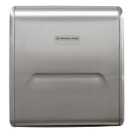 Kimberly-Clark Professional - Series 31498 MOD Stainless Steel Recessed Dispenser Narrow Housing
