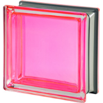 Seves Glass Block Inc. - Mendini Collection Corallo Q19 Smooth Metallised Glass Block