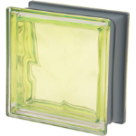 Seves Glass Block Inc. - New Colour Collection Kiwi Q19 O Met Glass Block