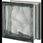 Seves Glass Block Inc. - Pegasus Metallizzato Nordica Q19 Wavy Metallised Glass Block