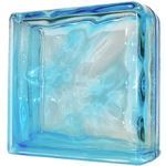 Seves Glass Block Inc. - Azur 1919/8 Double End Wave Glass Block
