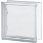 Seves Glassblock - 1919/8 BSH20 Wave Bullet Proof Glass Blocks