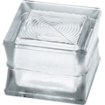 Seves Glassblock - BG 1414/11 Circles - Glass Pavers