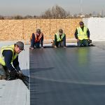 Carlisle SynTec Systems - FleeeceBACK® RapidLock(RL) Fleece-Reinforced Roofing Membrane