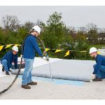 Carlisle SynTec Systems - PVC - Sure-Flex FleeceBACK® 3-Layer Roofing Membrane