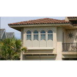 Alutech United, Inc. - Studio Star Custom Shaped Roll Shutters (Bottom-Up)