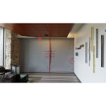 U.S. Smoke and Fire - SD240GS 2-3 Hr Fire Protective Smoke Curtain® with Pass Through Slot