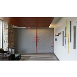 U.S. Smoke & Fire - SD240GS 2-3 Hr Fire Protective Smoke Curtain® with Pass Through Slot