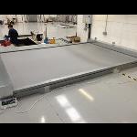 U.S. Smoke & Fire - SD240GS™ 2-3 hr Horizontal Fire Protective Smoke Curtain